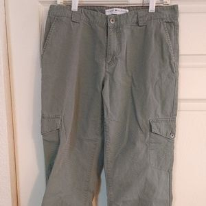 Tommy Hilfiger Cargo cropped Pants ,Womens 10